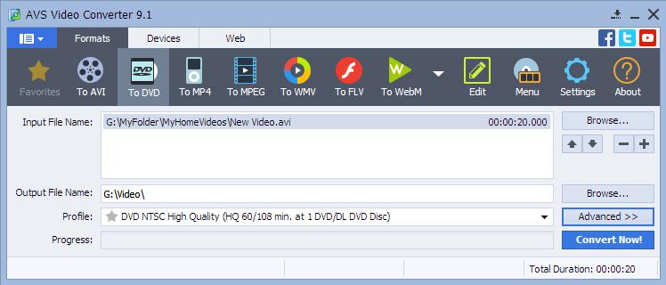 AVS Video Converter 9.1