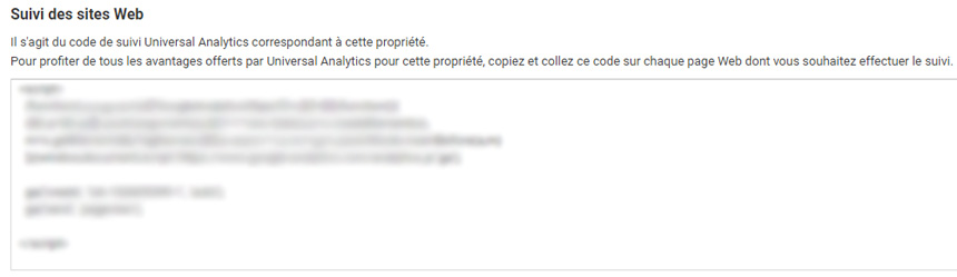 Code Google Analytics