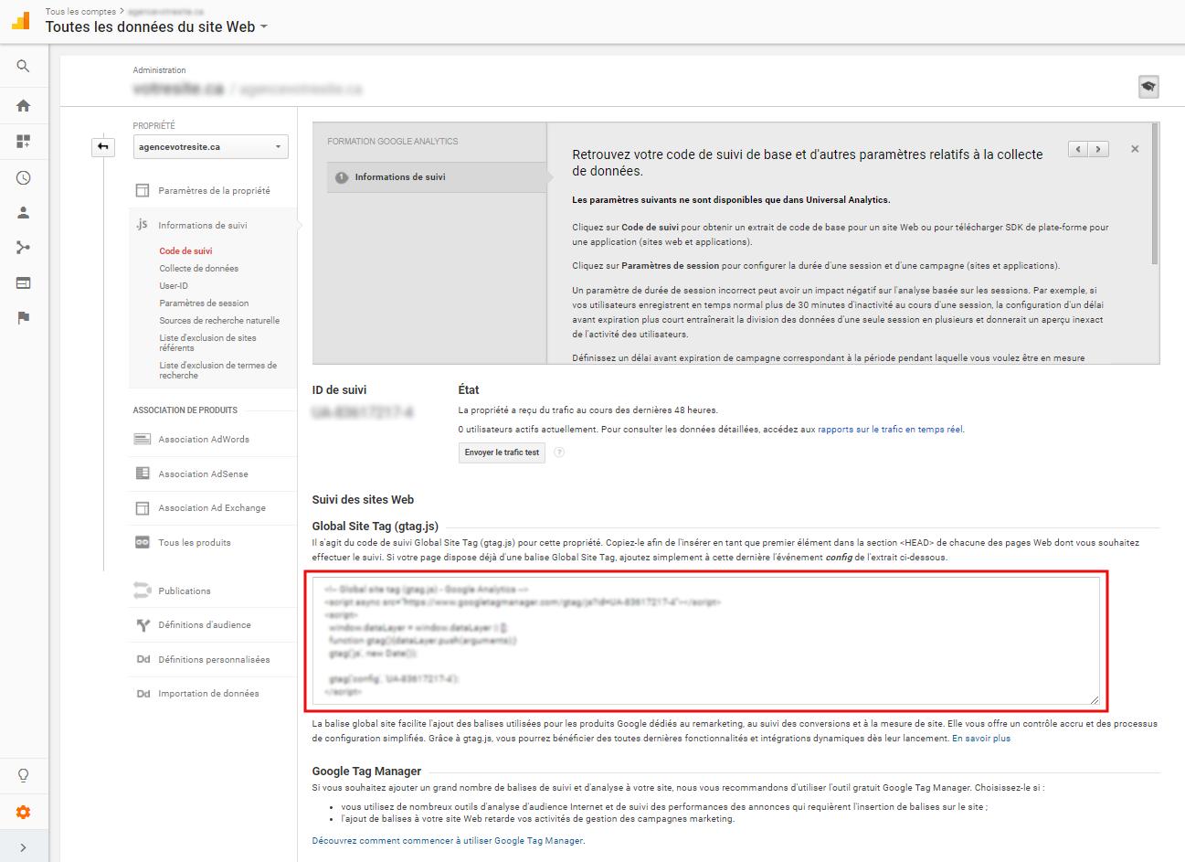 Google analytics sur votre boutique en ligne zone for Bouquet en ligne