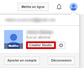 Creator Studio YouTube