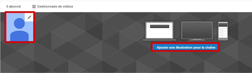 Image chaîne YouTube