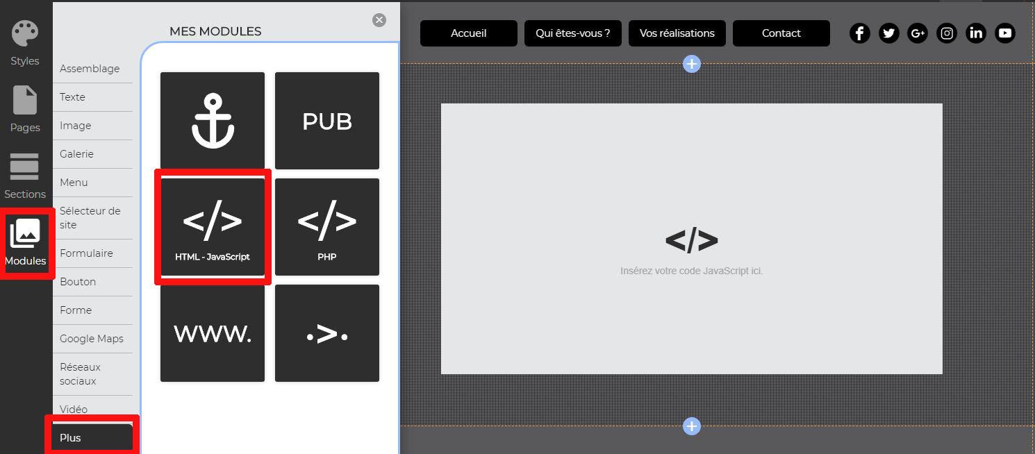 Intégrer vidéo YouTube avec HTML
