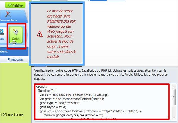 Integrer Une Barre De Recherche Google A Votre Site Web Zone