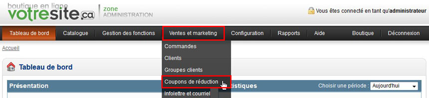 Accorder des r ductions ou des promotions zone - Coupon de reduction delamaison ...
