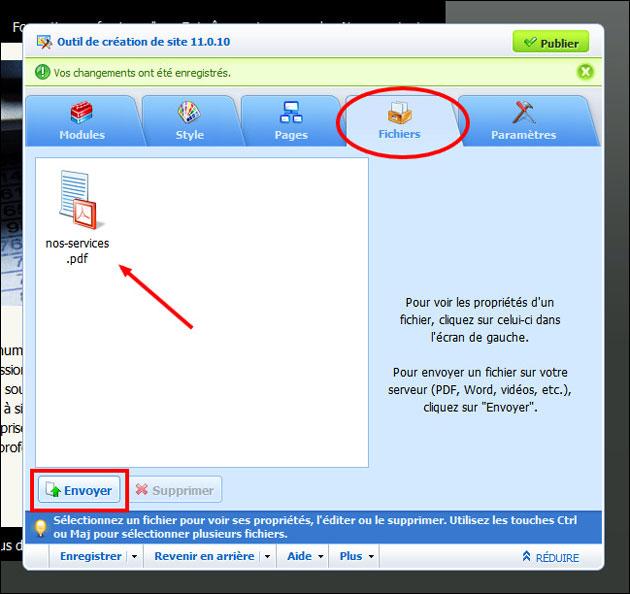 Cr er un hyperlien ou ajouter un fichier pdf doc xls for Ouvrir un lien dans une nouvelle fenetre