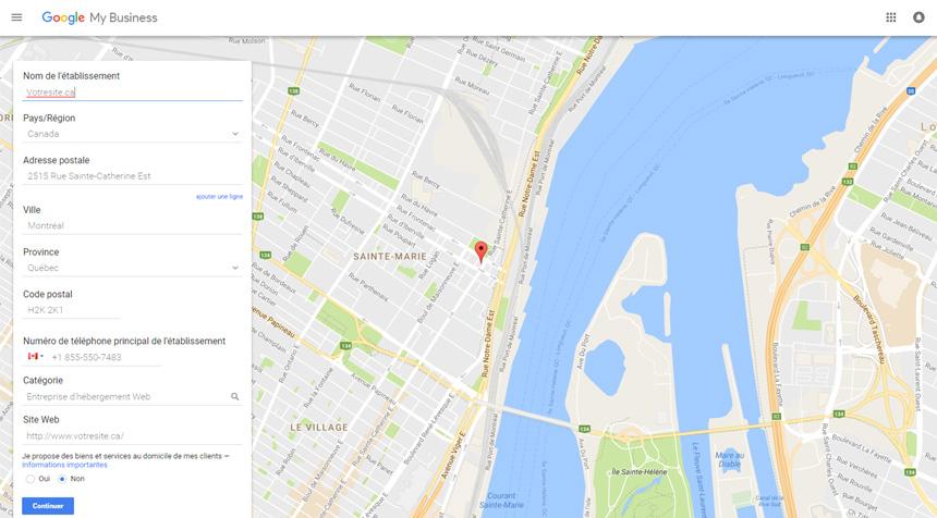 Trouvez votre entreprise avec Google Mon Entreprise
