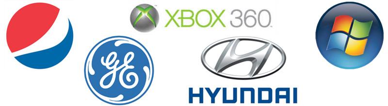 Exemples de logos circulaires