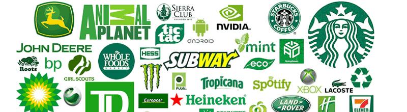 Exemples de logos verts