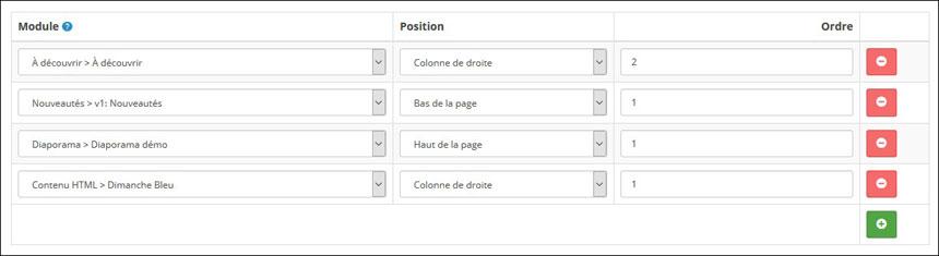 Mise en page de votre module HTML personnalisé