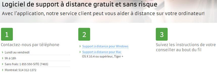 Support distance TeamViewer