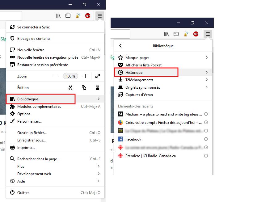 Vider le cache de Mozilla Firefox