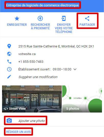 votresite Google Maps
